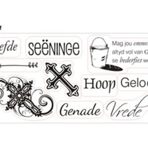 Geloof Clear Stamp Set