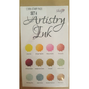 Mini Ink Pad Set 4