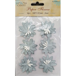 Paper Flower Silver Aster