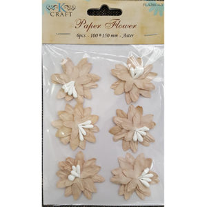 Paper Flower Biscuit Aster