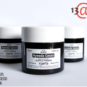 Gesso Black Acrylic Primer 120ml