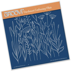 Groovi Plate A5 Meadow Grasses