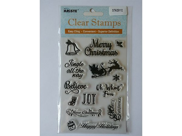Christmas Clear Stamp Set