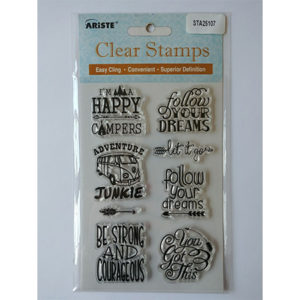 Campers Clear Stamp Set