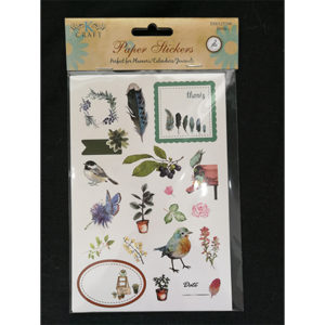 Paper Stickers Birds