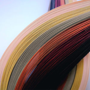 10 mm Brown Quilling Paper (100)