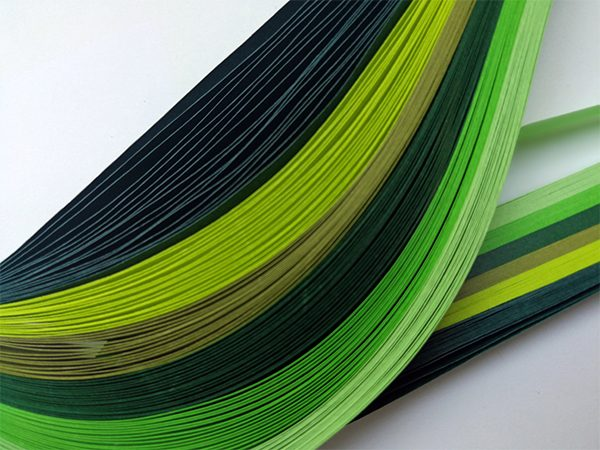 10 mm Green Quilling Paper (100)