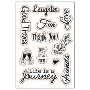 Journey Clear Stamp Set