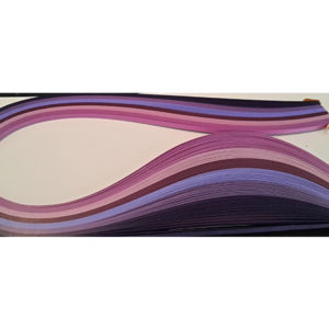 10 mm Purple Quilling Paper (100)