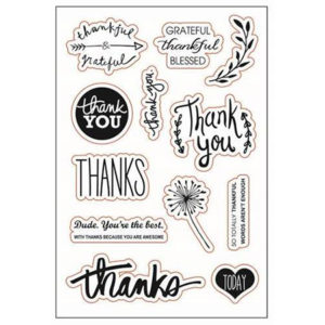Thanks Clear Stamp Set