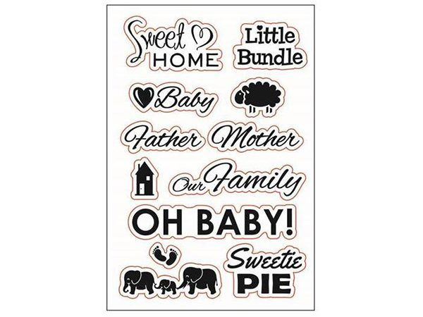 Baby Clear Stamp Set