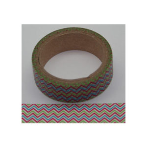 15 mm Multi Colour Chevron