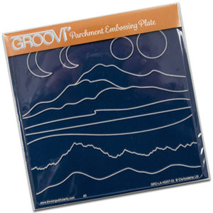 GROOVI PLATE A5 MOUNTAIN AND HILL